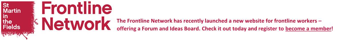 Frontline Network - Become a member
